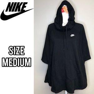 Nike poncho hoodie